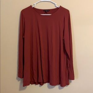 Eileen Fisher Long Sleeve Relaxed Fit Shirt